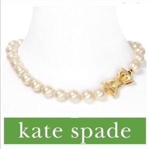 """NWT KATE SPADE """"All Wrap up in Pearls"""" NECKLACE"""